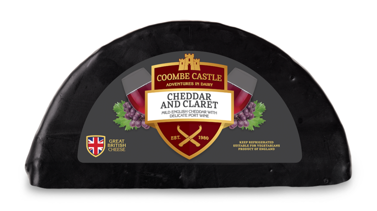 USA UK Coombe Castle International Savoury Blends Cheddar & Claret