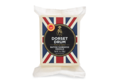 USA UK Coombe Castle International Cheddar Cheese Dorset Drum