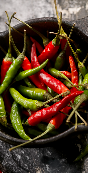 Fiery Spice Chillis Lifestyle