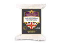USA UK Coombe Castle International Cheddar Cheese Mature Cheddar