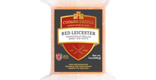 USA UK Coombe Castle International Regional Cheese Red Leicester