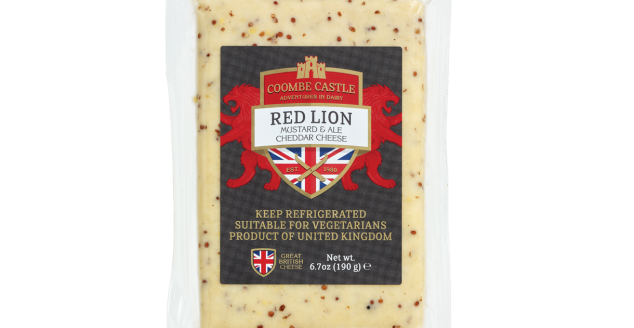 USA UK Coombe Castle International Savoury Blends Red Lion