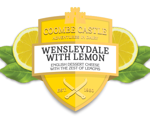 USA UK Coombe Castle International Sweet Blends Wensleydale with Lemon