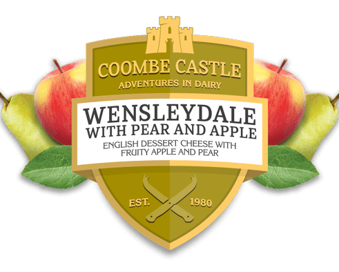 USA UK Coombe Castle International Sweet Blends Wensleydale with Pear & Apple