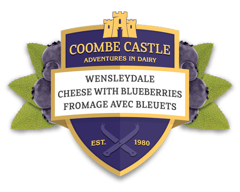Canada Coombe Castle International Sweet Blends Wensleydale with Blueberries