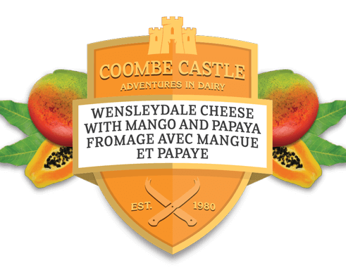 Canada Coombe Castle International Sweet Blends Wensleydale Mango & Papaya