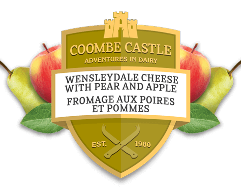 Canada Coombe Castle International Sweet Blends Wensleydale Pear & Apple