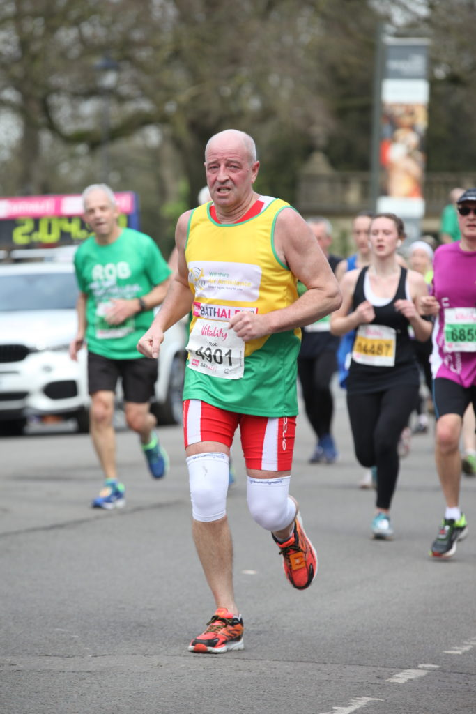 Rob Dalliore Marathon Wiltshire Air Ambulance