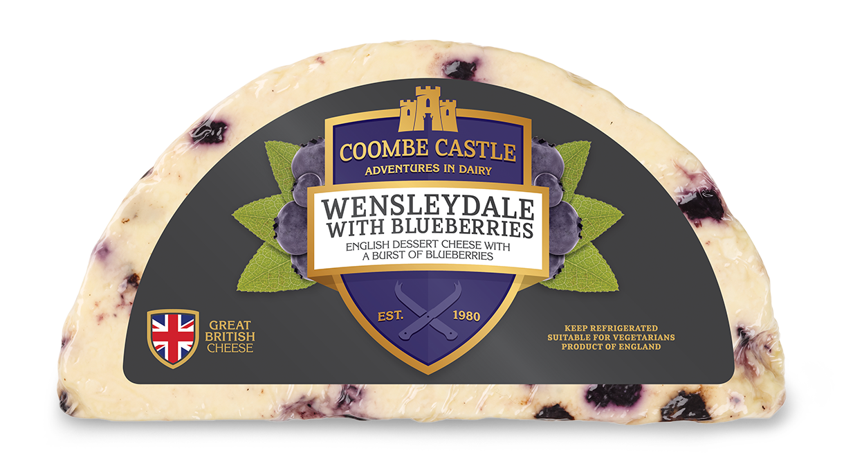 Wensleydale with Blueberries - Coombe Castle International