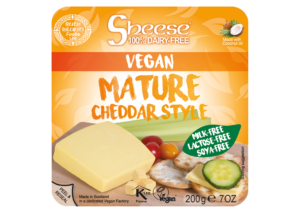 Sheese Vegan Mature Cheddar Style