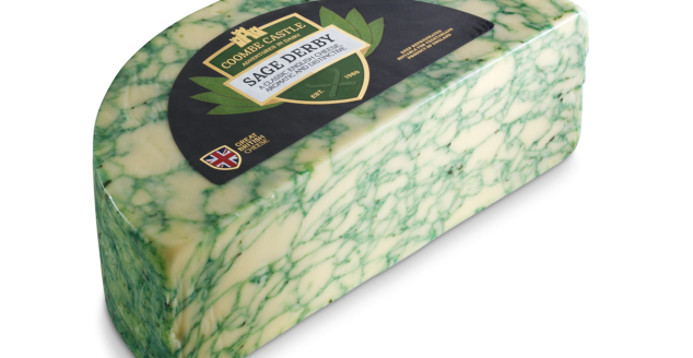 USA UK Coombe Castle International Regional Cheese Sage Derby