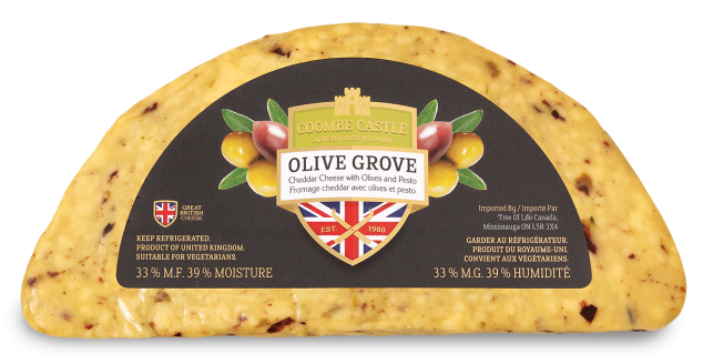 Canada Coombe Castle International Savoury Blends Olive Grove